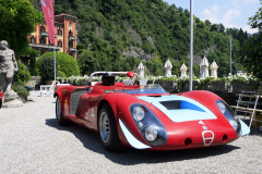 Class H -108 - Colour and Speed Post-War Racing Icons . Alfa Romeo 33/2 by Autodelta