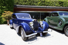Class A -10 - Closed  for Comfort.  Bugatti 57 Ventoux (1937)