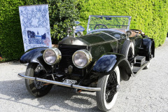 Class A: Graceful Open Air-Style. Rolls-Royce Silver Ghost (custom coach work) 1922