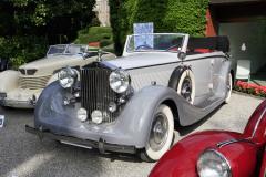 Class A: Graceful Open Air-Style.  Rolls-Royce Phantom III by Voll & Ruhrbeck (1937)