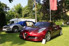 Concept Cars & Prototypes. Alfa Romeo 4C (2011)