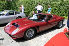 Class G : La Dolce Vita. Lamborghini  Miura SV/J by Bertone (1972)