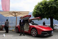 Concept Cars & Prototypes. Italdesign Giugiaro Brivido (2012)