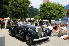 Class A: Graceful Open Air-Style.  Mercedes-Benz 540K Special Roadster (1939)