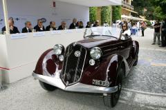 Class B: Interpretations of Elegance. Alfa Romeo 6C 2300  by Touring (1935)