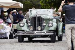 Class A  - 06 - Flamboyance in motion - Pre-war coachbuilt luxury.  Pierce-Arrow 1242 by Le Baron (1933)