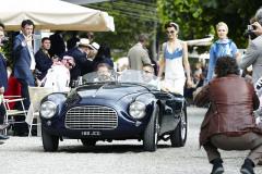 Class E - 52 -Gentlemens racers - Speed meets post-war style. Ferrari 166 MM by Touring
