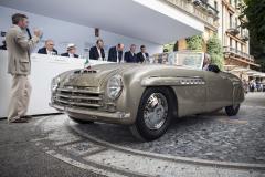 Class F - 64 - Hollywood on the Lake - Convertibles for a grand entrance at Villa d'Este. Alfa Romeo 6C 2500 S by Pinin Farina (1946)