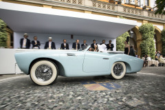 Class F - 70 - Hollywood on the Lake - Convertibles for a grand entrance at Villa d'Este. Pegaso Z-102 by Saoutchik (1954)