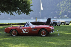 Class F - 72 - Hollywood on the Lake - Convertibles for a grand entrance at Villa d'Este. BMW 507 (1957)