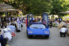 """Class H - 88 - Driven by Excess - From Glam Rock to New Wave. Lamborghini  LP 400 Countach  """"Walter Wolf"""" by Bertone (1976)"""