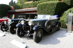Class A  - 02 - Twentieth Century Style : From Touring Torpedo  to Racy  Roadster / HISPANO SUIZA H6 B DUAL COWL by Bligh Brothers  (1926)