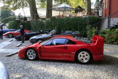Class G - 91 -  The Birth of the Supercar: Latin Style Landmarks /  Ferrari F40 by Pininfarina (1989)