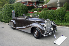 Class C - 30 -  Showroom Showdown: Britain and Germany  Battle for Luxury  Supremacy /  Bentley Mark IV by Franay (1947)