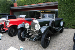 Class A  - 04 - Twentieth Century Style : From Touring Torpedo  to Racy  Roadster / Bentley 3 Litre Speed Red Label by Vanden Plas (1927)