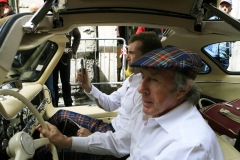 Flavors of the Mille Miglia. F1 legend Sir Jackie Stewart