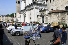 Flavors of the Mille Miglia - Thursday: Piazza Paolo VI parking lot Mille Milgia