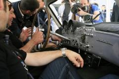 Thursday - Sealing of the cars with Jochen Mass