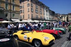 Thursday Mille Miglia Village: Piazza Paolo VI parking lot Mille Milgia