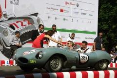 Thursday: Start of the Race (Day 1) at Viale Venezia