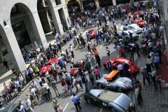 Thursday - Exit sealing at Piazza della Vittoria into  Via IV Novembre