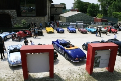 Thursday - Assembly point and lunch for the drivers only at Museo Mille Miglia