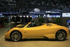 World premiere Pagani Huayra Roadster