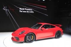 World premiere Porsche 911 GT3