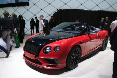 world premiere Bentley Continental Supersports
