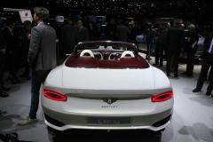 world premiere e Bentley EXP 12 Speed 6e concept
