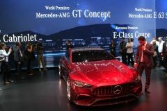 world premiere AMG GT concept