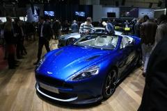 world premiere Aston Martin Vanquish S