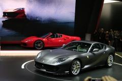 world premiere Ferrari 812 Superfast