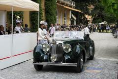 Class B : Pre-War Open  Sport Cars. BMW V 12 Rapide (Lagonda)
