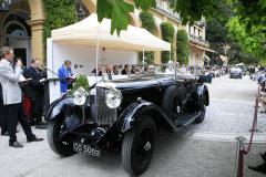 Class C : Pre-War Open Four Seaters. Bentley 8 Litre