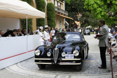 Class D : Closed Two Door Cars from 1935 to 1950.  Alfa Romeo 6C 2500 SS