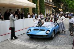 Class F: Post-War Closed Sports Cars.   Lamborghini Miura Roadster