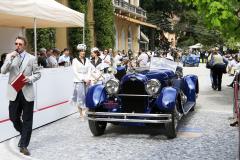 Class B : Pre-War Open  Sport Cars. Duesenberg X Straight 8