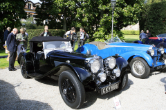 Class B : Pre-War Open  Sport Cars. S.S. Cars Ltd - SS 100 Jaguar