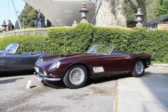 Class E: Post-War Open Sports Cars.  Ferrari 250 GT