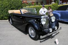 Class E: Post-War Open Sports Cars.  Jaguar Mark IV