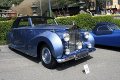 Class E: Post-War Open Sports Cars.  Rolls-Royce Silver Wraith