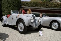 Class B : Pre-War Open  Sport Cars. BMW 328