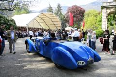 Class B : Pre-War Open  Sport Cars. Bugatti 57 TT