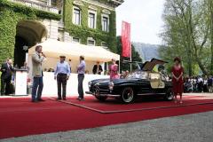 Class F: Post-War Closed Sports Cars.   Mercedes-Benz  300 SL