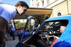 Friday - Ferrari 250 GTO arriving for the FIVA check