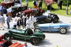 Class A - 1933 Alfa Romeo 8C Monza by Zagato