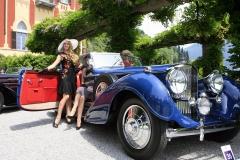 Class C - 1937 Bentley 4 1/2 Litre  by Erdmann & Rossi