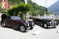 Class C - 1937  Bugatti 57 Atalante and Lancia Astura Serie III