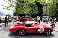 Class E -  1955 Ferrari 750 Monza (Scaglietti)